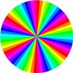 Rainbow Segmented Circle