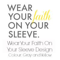 Gray and Yellow Faith