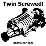 Twin Screwed - Supercharger Dog Shirts