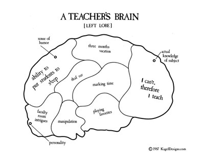 A Teacher's Brain