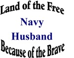 Land of the Free Navy Husband