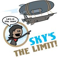 Bandana: Sky's the Limit!