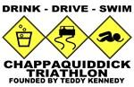 ted kennedy chappaquiddick triathlon anti-liberal t-shirt