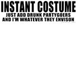 Instant Costume Halloween T-shrits & Gifts