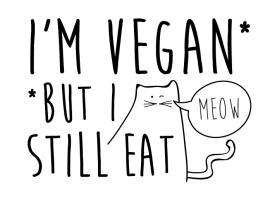 I'm Vegan, But I Still Eat *****