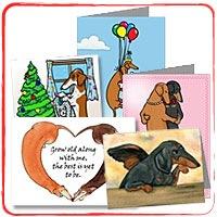 WEINER DOG CARDS