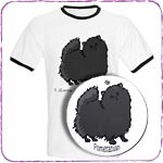 Black Pomeranian T-Shirts and Gifts