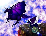dark pegasus flight