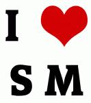 I Love S M