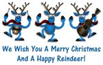 Merry Christmas & a Happy Reindeer