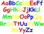 Alphabet in color