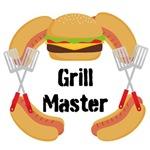 Grill Master Hamburger Hot Dogs