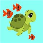 Sea Turtle Fish