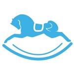 Blue Rocking Horse Pony