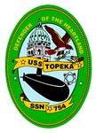 USS Topeka SSN-754 Navy Ship