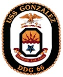 USS Gonzalez DDG 66 US Navy Ship