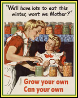 GROW YOUR OWN, CAN YOUR OWN WORLD WAR 2 T-SHIRTS