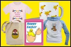 EASTER T-SHIRTS & GIFTS