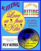 KITE T-SHIRTS, KITES AND KITING GIFTS