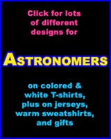 ASTRONOMER T-SHIRTS & GIFTS