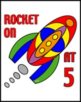ROCKET BIRTHDAY T-SHIRT