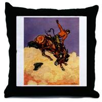 Americana Western Throw Pillows