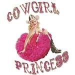 Cowgirl Princess Pinup