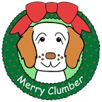 Clumber Spaniel Christmas Ornaments