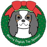 English Toy Spaniel Christmas Ornaments