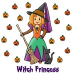 Witch Princess (Red Hair)