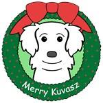Kuvasz Christmas Ornaments