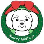 Maltese Christmas Ornaments