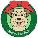 Norfolk Terrier Christmas Ornaments
