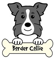 Personalized Border Collie