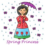 Spring Princess (Black Hair)