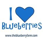 I Love Blueberries