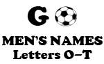 Soccer (Go Men Letter O-T)