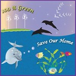 100% Alternative Energy Sea Scape