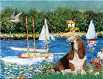 SAILBOATS<br>& Basset Hound