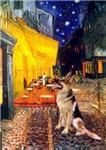 TERRACE CAFE<br>& German Shepherd