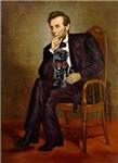 ABRAHAM LINCOLN<br>& Black Pug