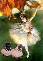 THE DANCER<br>& 2 Pugs