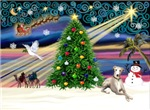 CHRISTMAS MAGIC<br>& Whippet #2