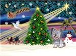 CHRISTMAS MAGIC<br>& Skye Terrier #2