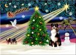 CHRISTMAS MAGIC<br>& Australian Shepherd