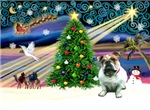 CHRISTMAS MAGIC<br>& English Bulldog