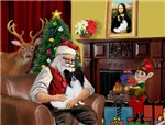 SANTA AT HOME<br>& Papillon