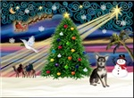 CHRISTMAS MAGIC<br>& Chihuahua