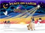 CHRISTMAS SUNRISE<br>& Chinese Shar Pei