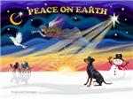 CHRISTMAS SUNRISE<br>& Manchester Terrier